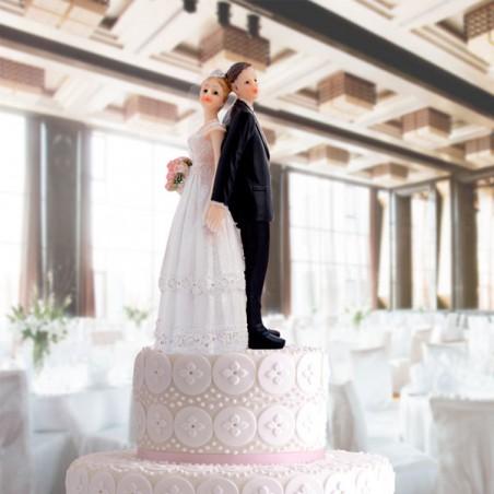 Couple De Maries En Figurine Pour Gateau De Mariage
