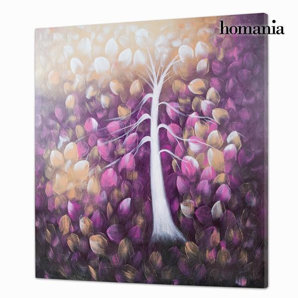 Tableau Peinture à Lhuile Arbre Violet Cadeaussimocom
